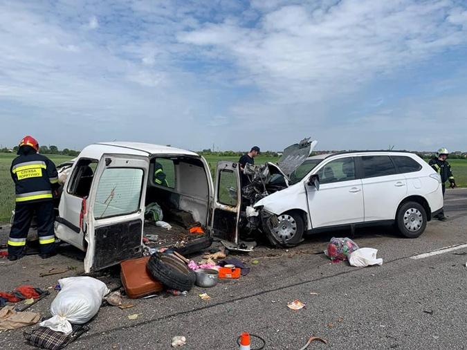 Трасса Киев Чоп авария 5 июня