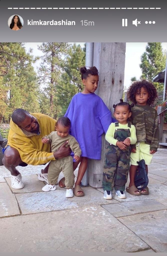 дети канье уэста