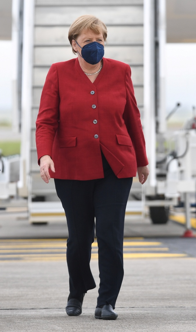 Ангела Меркель на саммите G7 2021