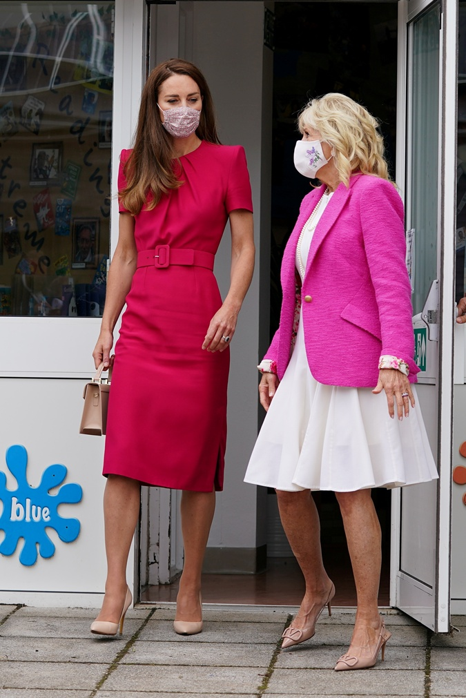 Джилл Байден и Кейт Миддлтон встретились на саммите G7