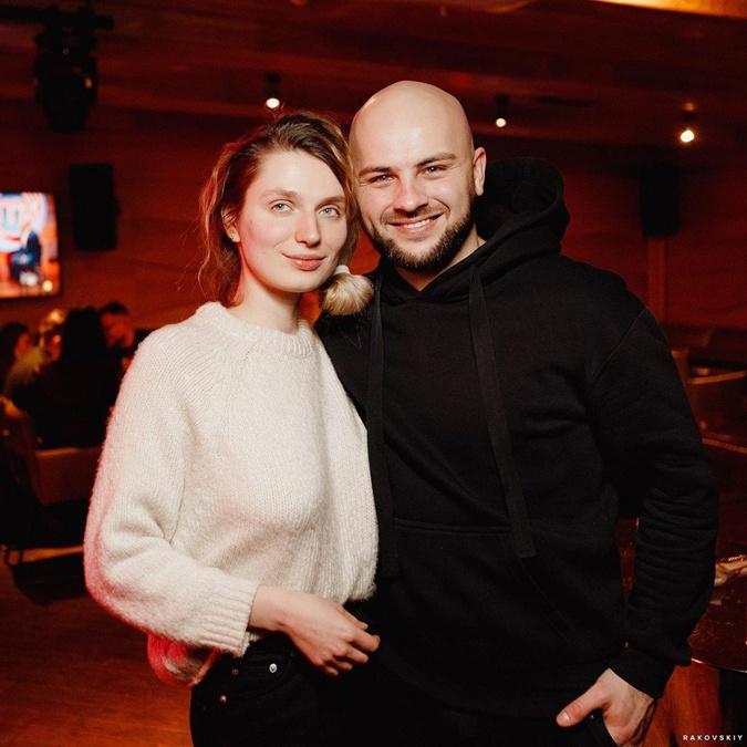 Николай Люлько с женой