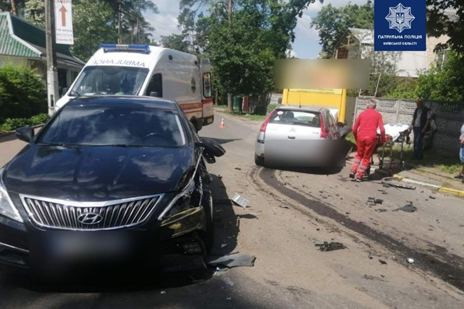 Авария в Ирпене