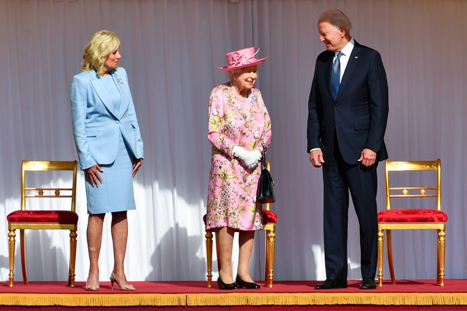 джилл байден, королева елизавета 2, джо байден