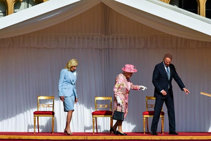 первая леди сша, королева елизавета 2, джо байден