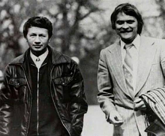Иван Миколайчук и Леонид Быков
