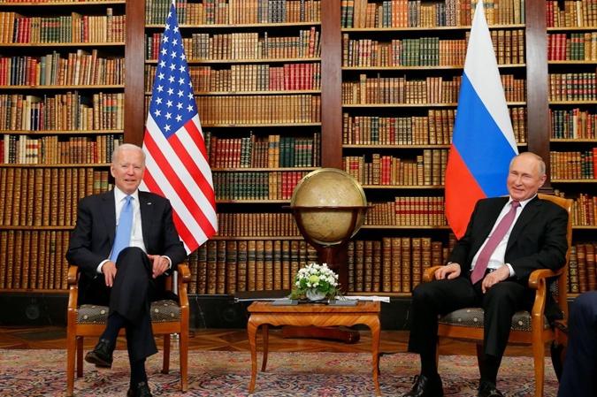 Джо Байден и Владимир Путин встретились в Женеве