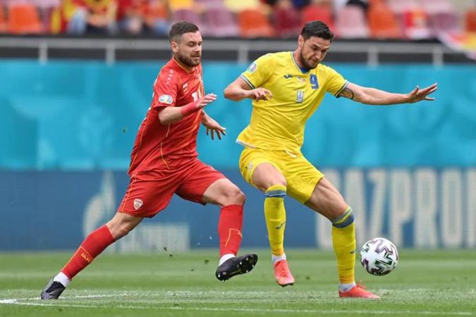 Роман Яремчук, сборная Украины, Северная македония