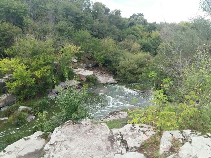 Букский каньон на реке Горный Тикич