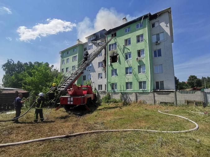 взрыв киевская область