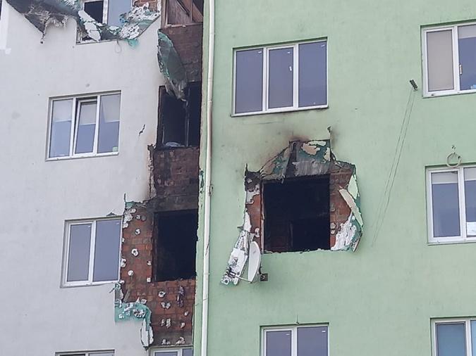 взрыв в Белогородке