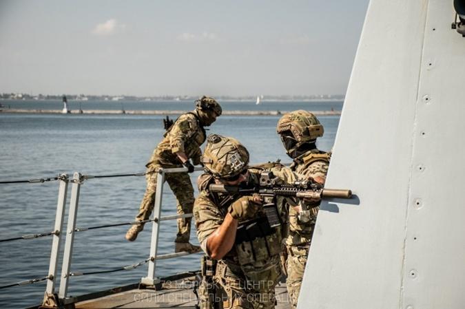 тренировка, Черное море, Силы специальных операций Украины