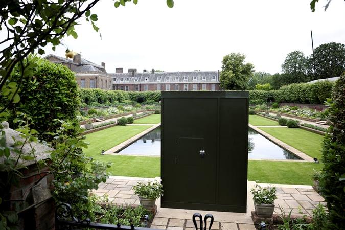 затонувший сад кенсингтонский дворец