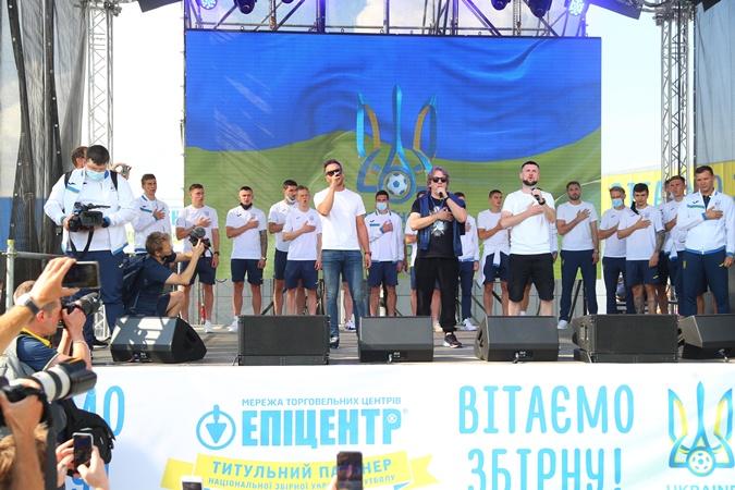 Сборная Украины вернулась с Евро-2020 фото 3