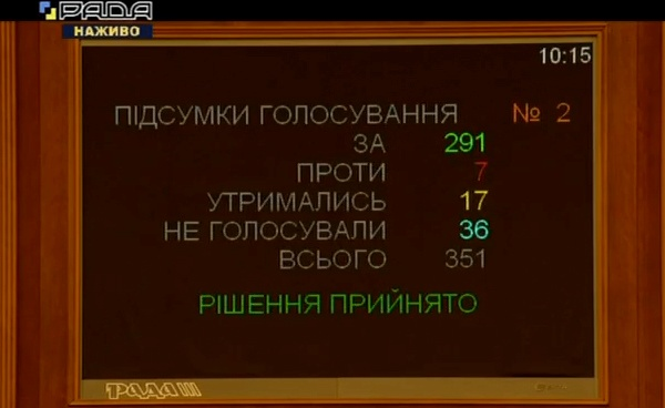 Рада поддержала отставку Арсена Аваков  фото 1