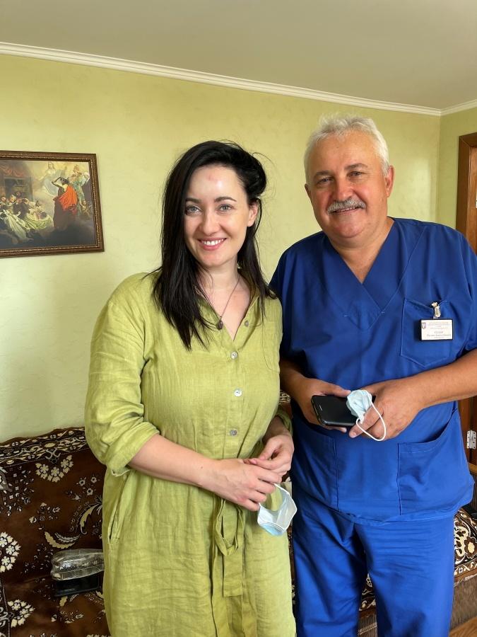 Соломия с нейрохирургом