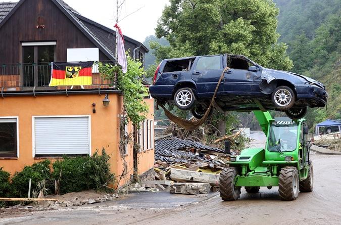 затопление Германии