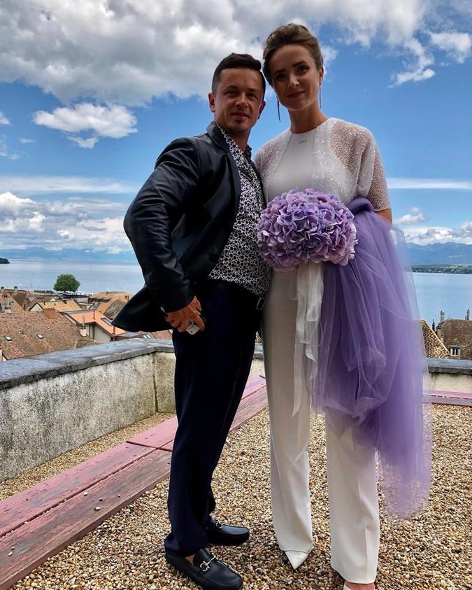 Элина Свитолина, Гаэль Монфис, Свитолина Монфис свадьба 16 июля