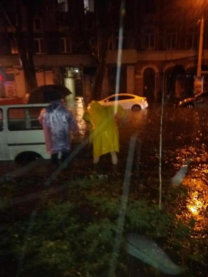 Ночью Одессу затопило