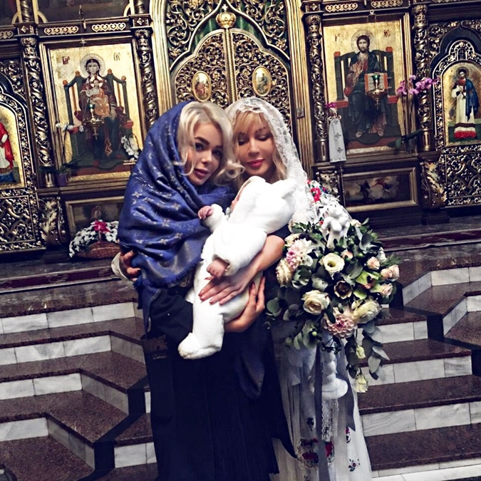 в 2017 году Билык и Павел Зибров крестили младшего брата Алины Михаила