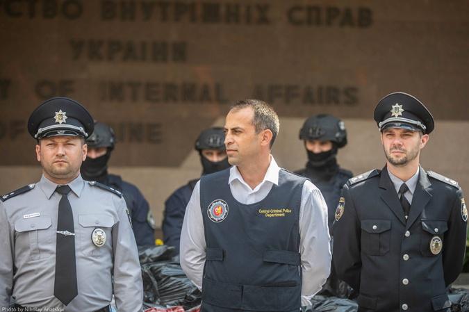 Начальник отдела по борьбе с наркотранзитом Департамента центральной криминальной полиции МВД Грузии.