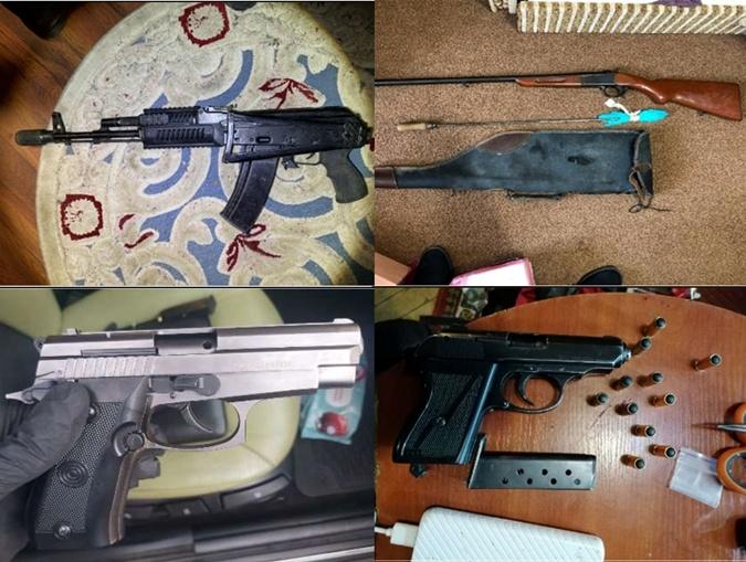Сэнсэй задержали оружие