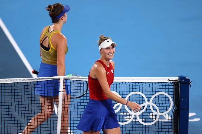 Свитолина проиграла чешкской теннисистке Маркете Вондроушовой. Фото: REUTERS