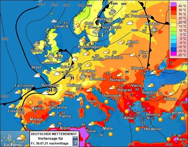 прогноз погоды 30 июля