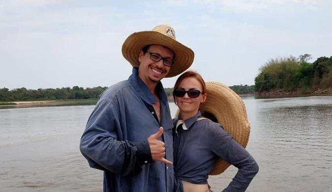Бразилец встретил любовь в Украине, приехав на годовщину гибели жены в малайзийском