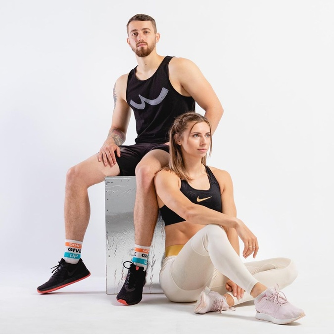Тимановская с супругом