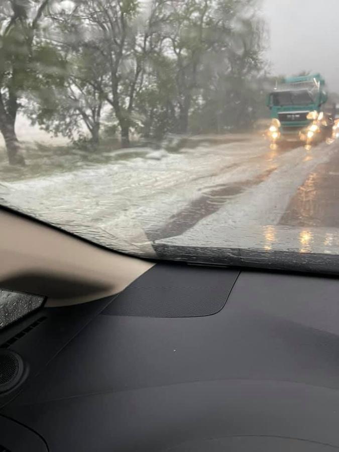 Николаев Одесса снег