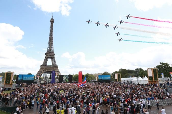 Пять ярких моментов закрытия Олимпиады в Токио [фото]