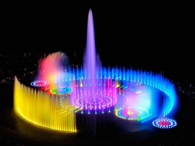 Винницкие поющие фонтаны