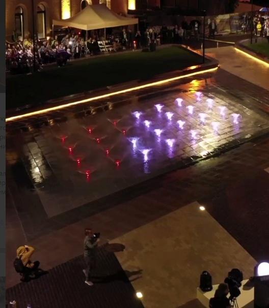 открытие фонтана в Киеве