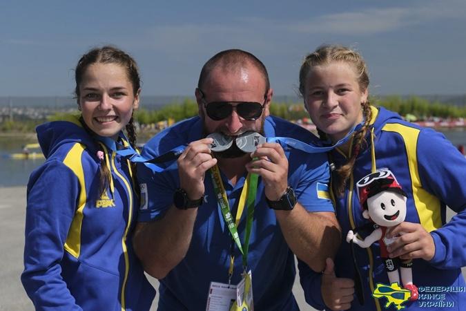 Украинские гребцы привезли 5 медалей с чемпионата мира среди юниоров и молодежи
