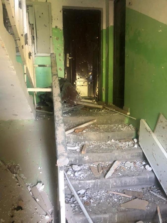 В Луганской области обстреляли сотрудников СБУ, которые собирали доказательства вчерашнего обстрела Трехизбенки фото 2