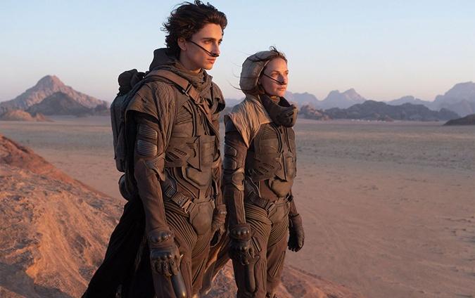 Леди Джессика и Пол Атрейдес на Арракисе. Скриншот.