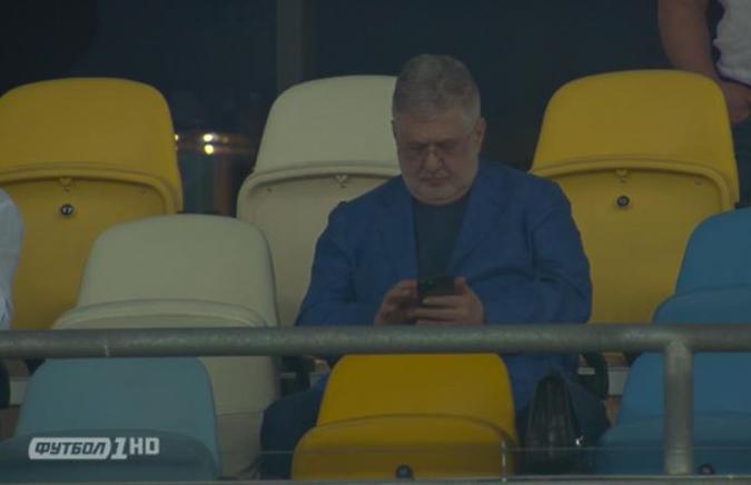 """Коломойский пришел посмотреть, как """"Шахтер"""" выиграл у """"Днепра-1"""" [фото]"""