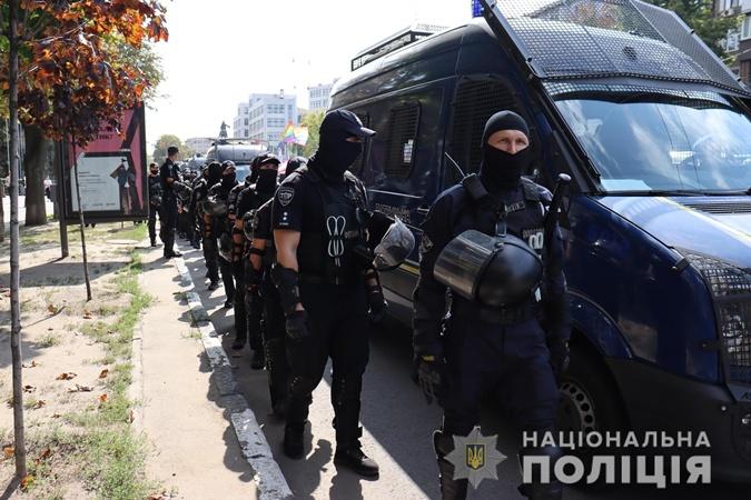 Харьков Прайд-2021: полиция насчитала 1500 участников, а организаторы - 3000 фото 1