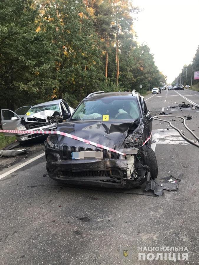 В Киеве столкнулись восемь машин, пять человек попали в больницы фото 3