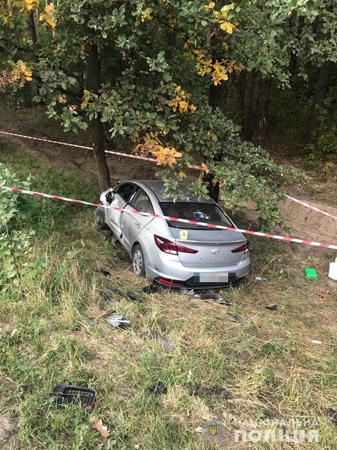 В Киеве столкнулись восемь машин, пять человек попали в больницы фото 1