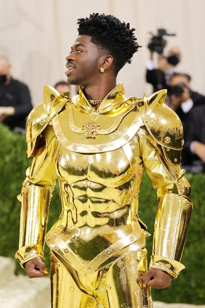 наряды рэпера Lil Nas X на met gala