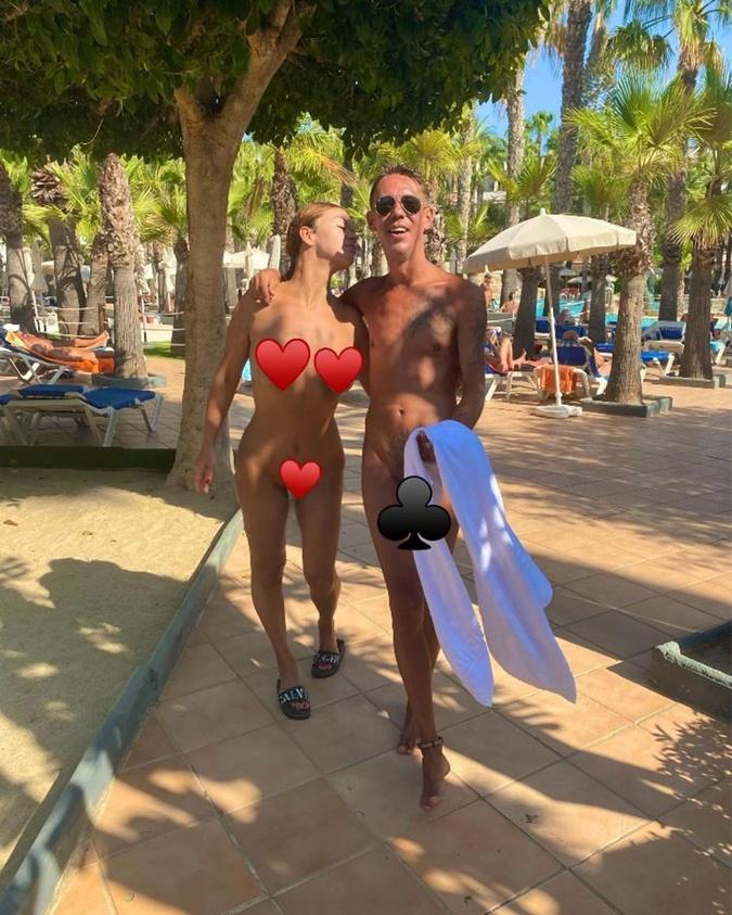 Ева Тарлакян и Алексей Панин