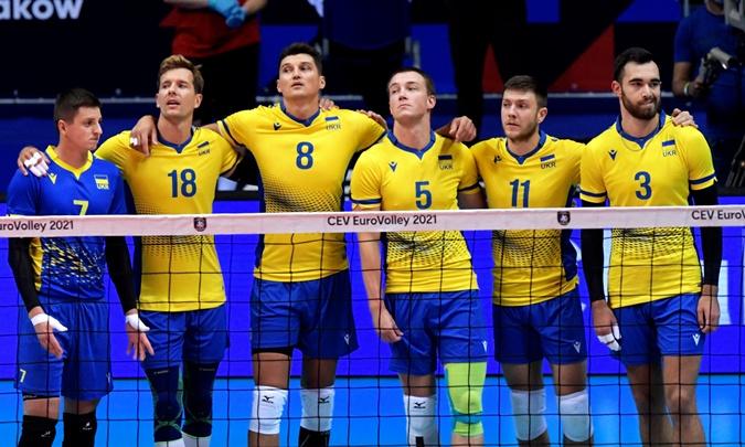 Сборная Украины по волейболу на Евро-2021