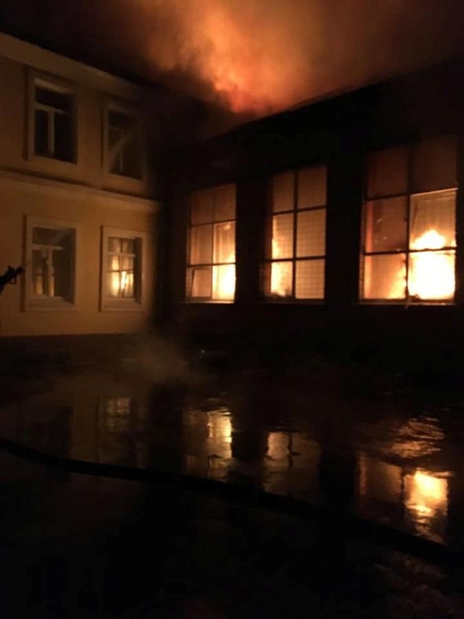 Пожар в Чугуеве