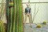Оказывается, если постоять возле кактуса, на голове растут клубки шерсти