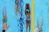 На третий день тренировок в лондонский бассейн дали воду
