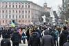 Михайловская площадь - новое место для митинга протеста