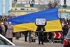 Евромайдан теперь на Михайловской площади
