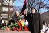 Церемония чествования Тараса Шевченко