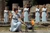 в Греции зажгли огонь Олимпийских игр 2016